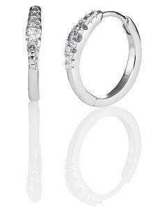 Kohinoor Cristal timanttikorvakorut 14K keltakultaa 143-244-14