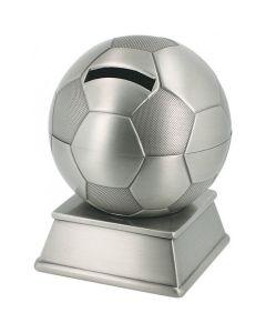Tinattu pankki jalkapallo 078652