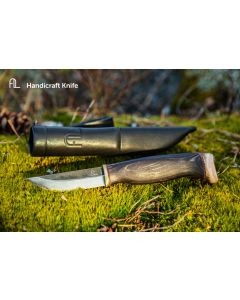 Arctic Legend Handigraft Knife Black Handle 6430067641016