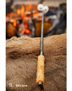 Arctic Legend BBQ Stick Curly Birch Handle 6430067641061
