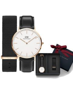 Daniel Wellington Classic Sheffield 40mm + Cornwall strap DW00500002