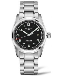 Longines Spirit Black bracelet+starps 40mm L38104539